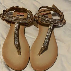 Swiss Alpine dress sandals